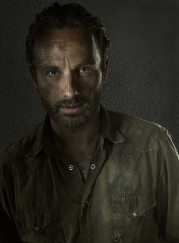 The Walking Dead Season 3 Portraits Rick Grimes 570x776 The Walking Dead Season 3 Portraits   Rick Grimes