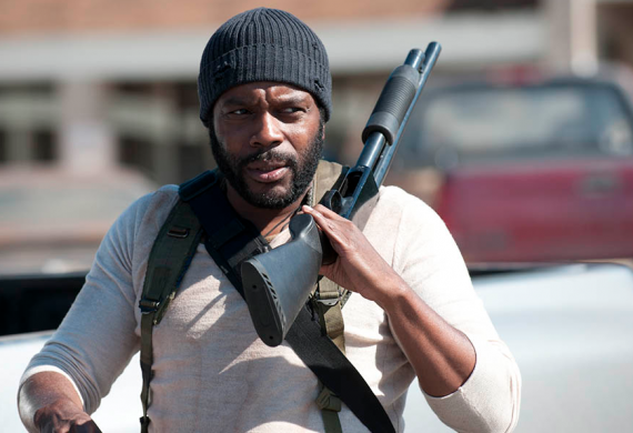 The Walking Dead Tyreese 570x390 The Walking Dead Tyreese