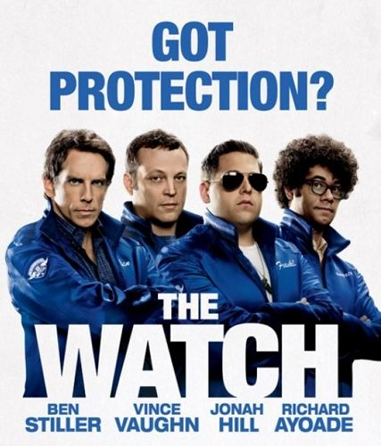 The Watch Stiller Hill Vaughn Ayoade