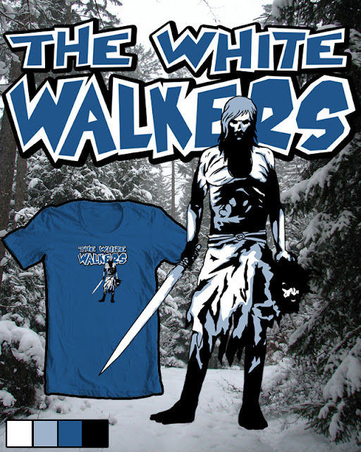 The White Walkers SR Geek Picks: Game of Thrones & Walking Dead Mashup, TMNT Bra, Avengers Meet Pokemon & More