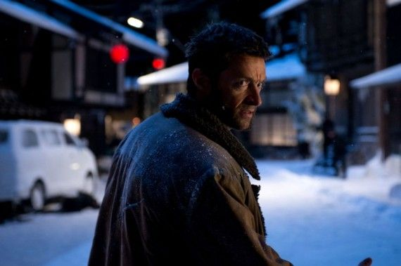 The Wolverine Logan in Snowy Japan Winter 570x379 The Wolverine   Logan in Snowy Japan Winter