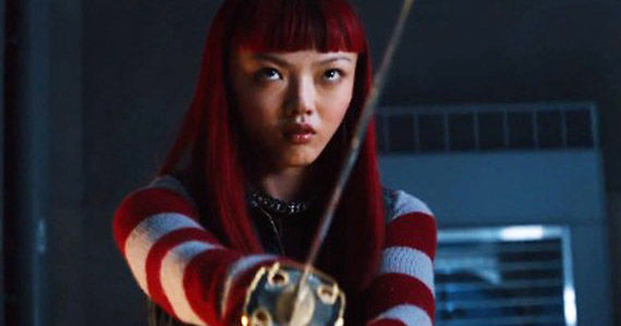 The Wolverine Movie Yukio Sword The Wolverine Set Interview: Rila Fukushima