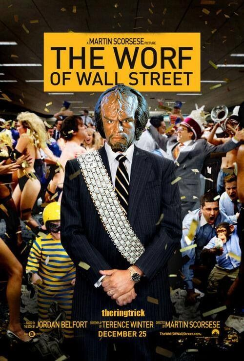 The Worf Of Wall Street The Worf Of Wall Street