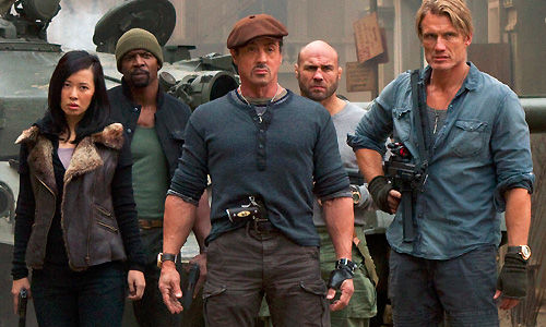 The expendables talk The Expendables Cast Talk Competition, Careers & One Liners