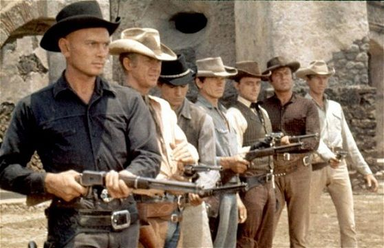 The original Magnificent Seven Tom Cruise Saddles Up For The Magnificent Seven Remake