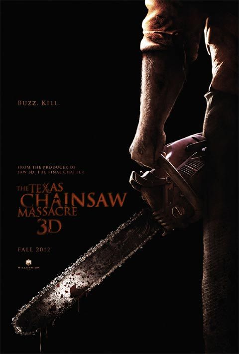 The Texas Chainsaw Massacre 3D New Posters: Sherlock Holmes 2, Tower Heist, The Grey, & Texas Chainsaw Massacre