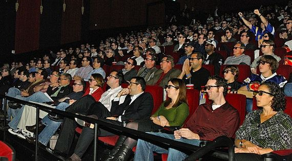 Theater Audience Moment Screen Rants Best Shared Movie Moments