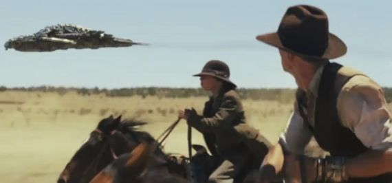 Third trailer for Cowboys and Aliens Cowboys & Aliens Trailer #3 Mixes Mystery & Explosive Action