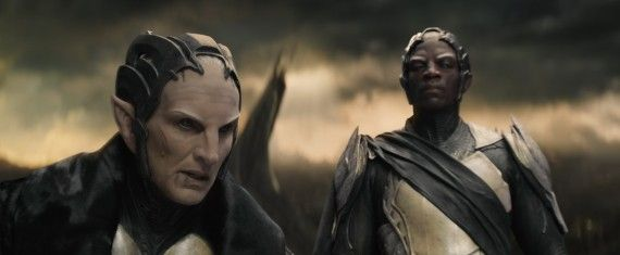 Thor 2 The Dark World Official Photo Malekith Algrim 570x235 Malekith and Algrim in Thor: The Dark World