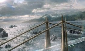 Thor 2 The Dark World Official Photo New Rainbow Bridge 280x170 Thor 2 After Credits Scenes, Box Office Forecast & New Images