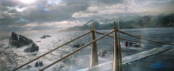 Thor 2 The Dark World Official Photo New Rainbow Bridge 570x235 Thor 2 The Dark World Official Photo New Rainbow Bridge