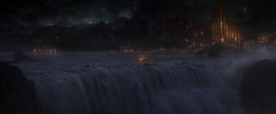 Thor 2 The Dark World Official Still Photo Asgard Waterfall 570x235 Thor 2 The Dark World Official Still Photo Asgard Waterfall