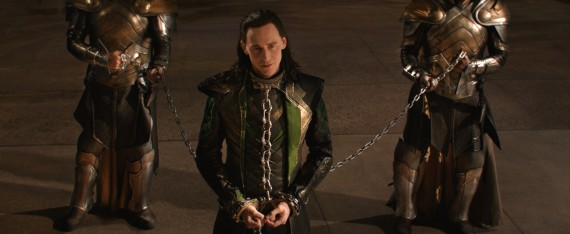 Thor 2 The Dark World Official Still Photo Loki Chains 570x234 Thor 2 The Dark World Official Still Photo Loki Chains