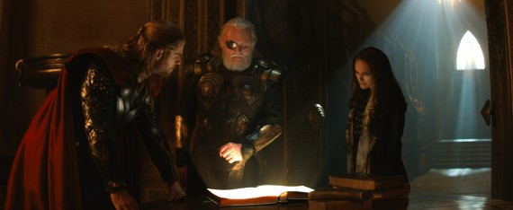 Thor 2 The Dark World Official Still Photo Odin Jane 570x234 Thor 2 The Dark World Official Still Photo Odin Jane