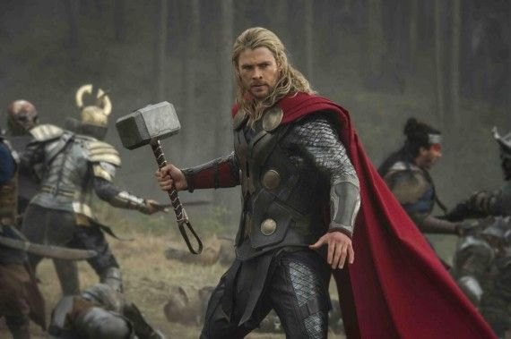 Thor Dark World Official Marvel Studios Photo 570x379 Thor: The Dark World Trailer: Earth Under Attack Again