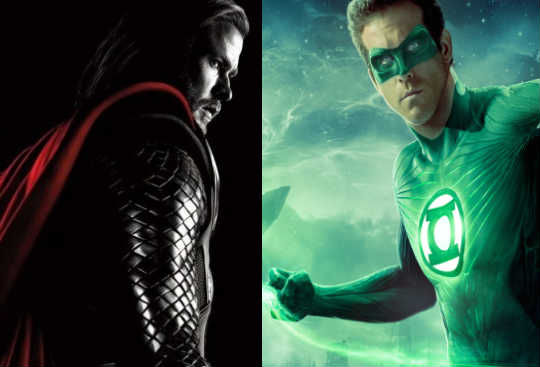 Thor Green Lantern trailers Thor vs. Green Lantern DC/Marvel Movie Trailer Showdown!