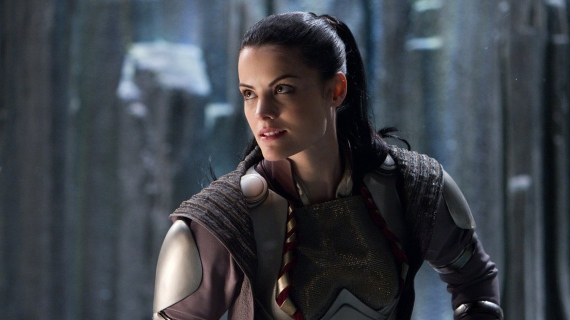 Thor Jaime Alexander as Sif Thor: The Dark World: Jaimie Alexander Talks History Between Thor and Sif