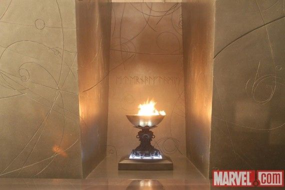Thor Movie Eternal Flame 570x380 Odins Vault & Thors Connections To The Marvel Universe