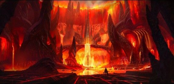 Thor Muspelheim Concept Art 570x275 Christopher Eccleston in Final Talks to Play Villain of Thor 2