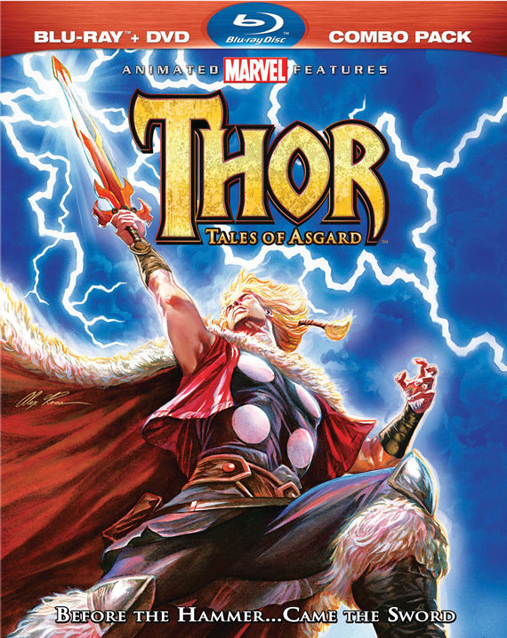 Thor Tales of Asgard Bluray Cover Art Thor: Tales of Asgard Review