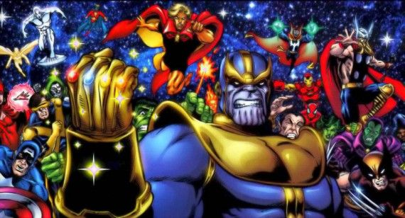 Thor Thanos Infinity Gauntlet 570x308 The Avengers Post Credits Scenes Explained