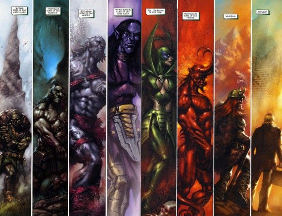 Thor The Dark World Nine Worlds Realms 570x436 New Thor: The Dark World Villain Details: Who Are The Marauders?