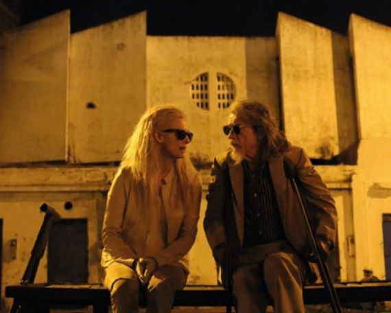 Tilda Swinton and John Hurt in Only Lovers Left Alive 570x456 Tilda Swinton and John Hurt in Only Lovers Left Alive