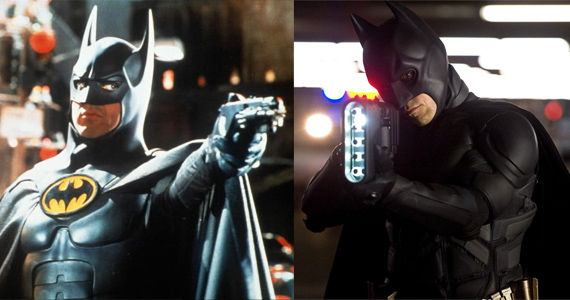 Tim Burton and Christopher Nolan Batman Movies Tim Burton Compares His Batman Movies to Nolans; Kevin Feige Praises The Dark Knight