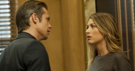 Timothy Olyphant and Natalie Zea Justified Watching the Detectives Justified Season 3, Episode 8: Watching The Detectives Recap