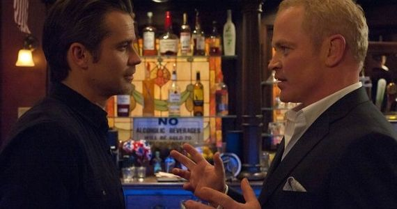 Timothy Olyphant and Neal McDonough Justified Guy Walks Into a Bar Justified Season 3, Episode 10: Guy Walks Into A Bar Recap