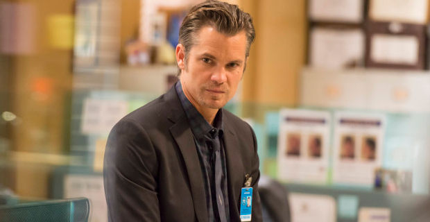 Timothy Olyphant in Justified Season 5 Episode 5 Justified: A Small Town Never Forgets