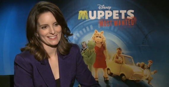 Muppets Most Wanted Tina Fey 'Muppets Most Wanted...