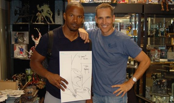 Todd McFarlane Jamie Foxx Spawn Todd McFarlane Says an Oscar Winning Actor is On Board For the Spawn Reboot