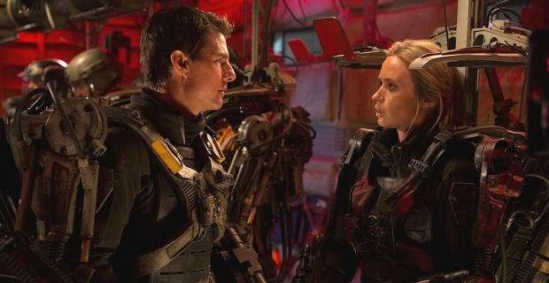 Tom Cruise and Emily Blunt in Edge of Tomorrow Reviews1 Edge of Tomorrow Review