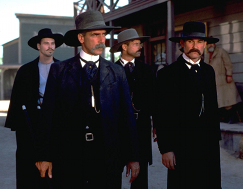 Tombstone Kurt Russell Val Kilmer Sam Elliott and Bill Paxton