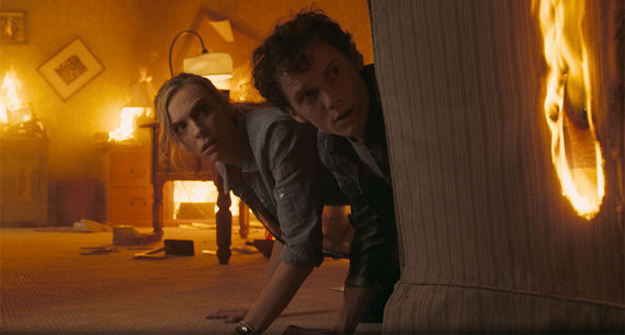 Tony Collette and Anton Yelchin in Fright Night Fright Night Review