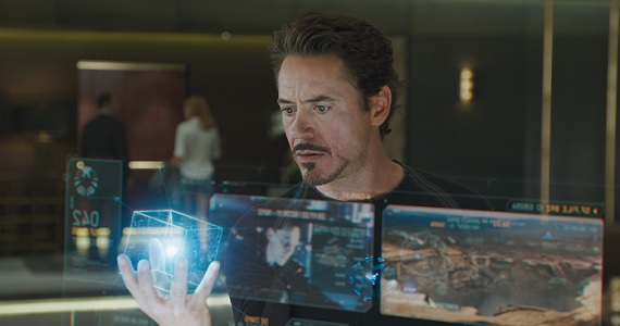 Tony Stark holding the Tesseract in The Avengers The Avengers 2 Script Doesnt Include Loki, May Contain Science