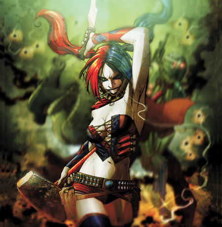 Top 15 Batman Villains - Harley Quinn