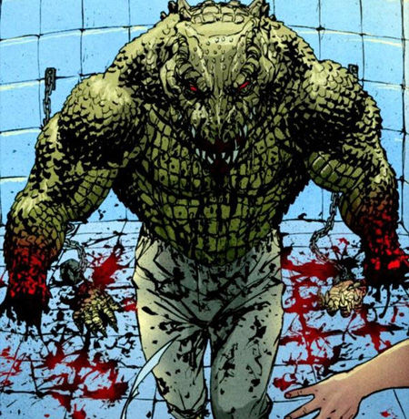 Top 15 Batman Villains - Killer Croc