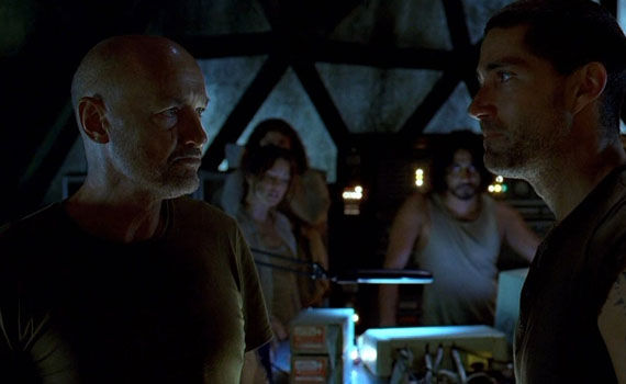 Top 25 Lost Moments Jack and Locke believe conversation Top 25 Moments From 6 Years of Lost
