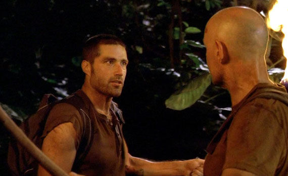 Top 25 Lost Moments Jack and Locke destiny conversation Top 25 Moments From 6 Years of Lost