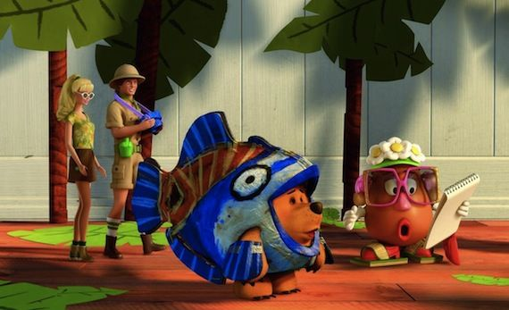 Toy Story Hawaiian Vacation Clip Pixar Releases Toy Story Short 'Hawaiian Vacation' Clip