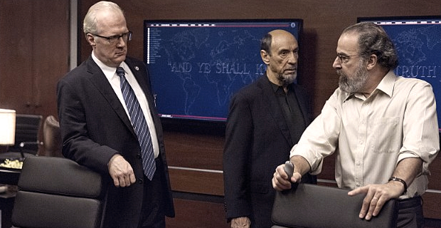 Tracy Letts F. Murray Abraham and Mandy Patinkin in Homeland Gerontion Homeland: Is Saul Reliving the Past or Making Way For the Future?