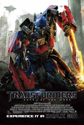 Transformers 3 IMAX 3D Poster 280x415 New TV Spots: Green Lantern, Transformers 3, Conan the Barbarian [Updated]