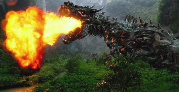 Transformers 4 Age of Extinction Grimlock Fire Breath header Transformers: Age of Extinction Trailer 2: A New Robot Army