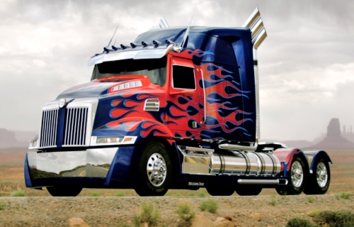 Transformers 4 Car Guide Optimus Prime Transformers 4: New Optimus Prime Robot Design Revealed?