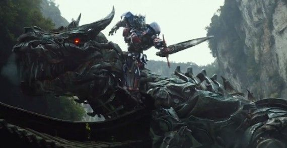Transformers 4 Grimlock Optimus Prime 570x294 Transformers: Age of Extinction Super Bowl Trailer