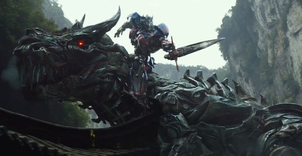 Transformers 4 Grimlock Optimus Prime Transformers 4 Trailer Preview & Mark Wahlberg Poster [Updated]
