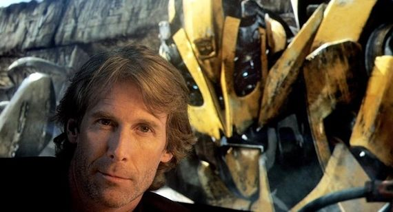 Transformers 4 Michael Bay Interview Transformers 4 Updates: Duhamel NOT Returning, New Vehicle Revealed & More