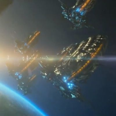 Transformers 4 Movie Spaceships